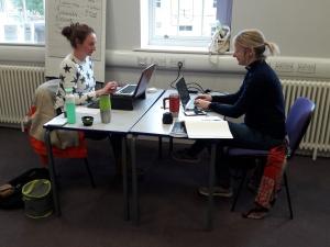 Hot desking at Kirkbymoorside Library