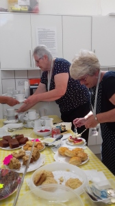Coffee morning at the Moorside Rooms July 2019