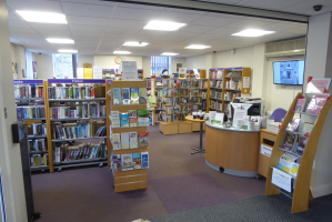 Main Library area
